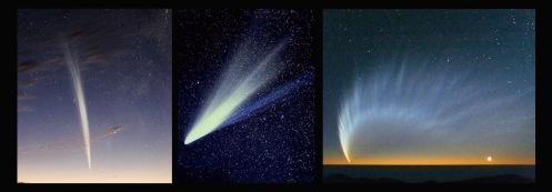3 comets