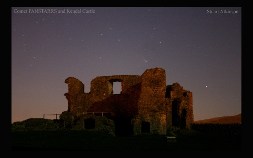 PANSTARRS and Kendal Castle 1