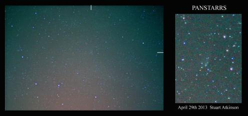 PANSTARRS April 29 2013 frame
