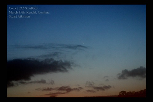 PANSTARRS March 15th Kendal