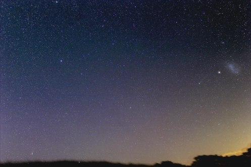 2 comets Justin Tilbrook