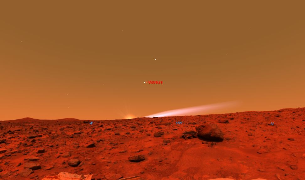 where does the word come from mars - photo #16