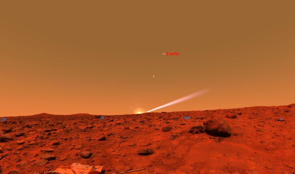 mars sunset rover - photo #18