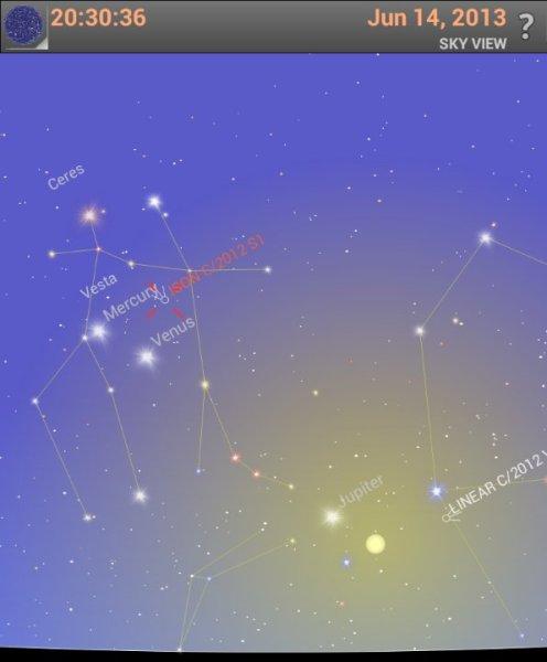 Jun 14 ISON in sky