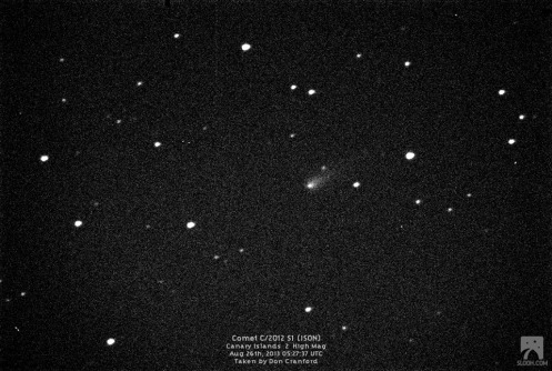 CRANFORD Aug 26th Canaries SLOOH telescope