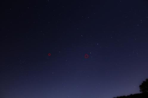 2 comets