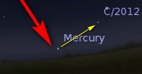 to ison from mercury