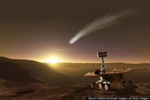 Cometa Siding Spring - vicino a marte